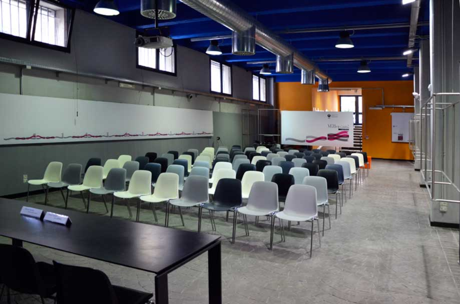 Millepiani - la sala eventi